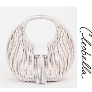 NWT Cleobella  Olivia Wicker Bag